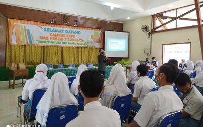 SMK Negeri 7 Surabaya Sukses Gelar Campus Expo 2021